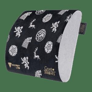 Secretlab Memory Foam Lumbar Pillow - Game of Thrones Iron Anniversary Edition